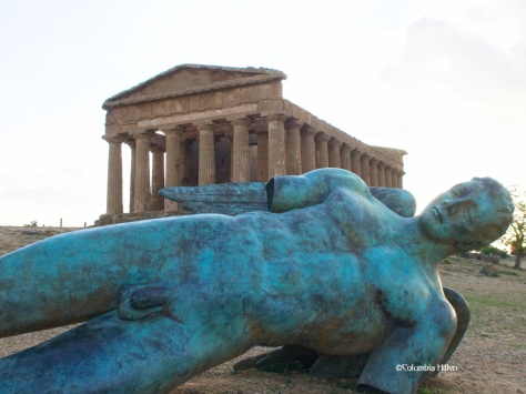 Imposing sites - Agrigiento, southern Sicily