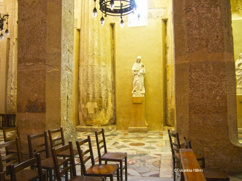 Pagann beauty - inside Ortigia's cathedral, a great example of pagan symbols asimilated by Christianity