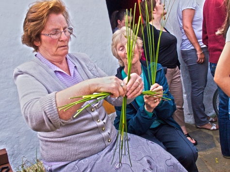 Story telling in Donegal, ancient crafts in Ireland