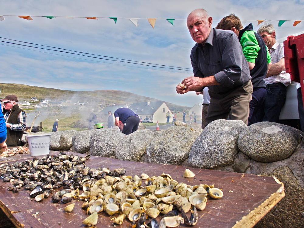 seafood in Donegal, Cnoc Fola events