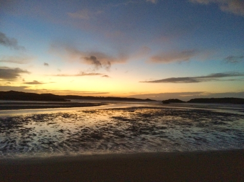 yearly resolutions, landscape photography, Donegal beach